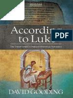 According to Luke by David Gooding