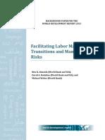 WDR2013 Bp Facilitating Labor Market Transitions and Managing Risks