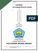 Caridokumen.com Laporan Praktikum Karakteristik Dioda