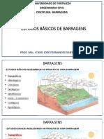 2. Estudos Basicos de Barragens