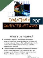 Evolution of Computer Network