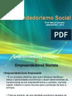 Empreendedorismo Social Unicentro 2014 SLIDES