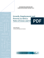 Growth employment Africa