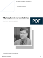 Why Bangladesh took over Pakistan