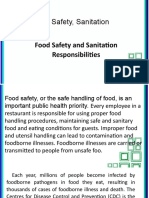 Food and Sanitation