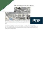 Underground Transit RF Design