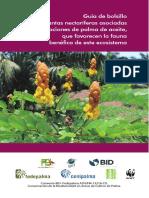 Guía de bolsillo Nectariferas