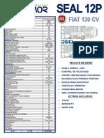 Seal 12p Fiat 130 Cv 2016