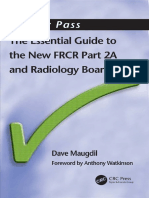 The Essential Guide to the New FRCR Part 2A and Radiology Boards