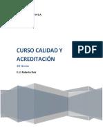 CURSO CALIDAD Y ACREDITACIÓN PDF