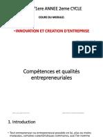 COURS 2 Compétences Et Qualités Entrepreneuriales (1)