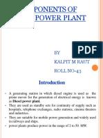 Diesel Pwer Plant by Kalpit Raut