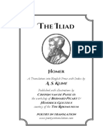 The Iliad, Homer & a. S. Kline