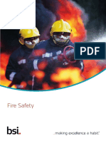 Fire safety executive  manual