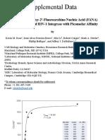 Selection of 2'-Deoxy-2'-Fluoroarabino Nucleic Acid (FANA)