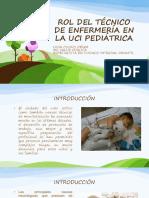 Rol Del Técnico de Enfermería en La Uci