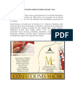 presentacion empresa confecciones