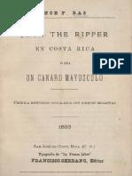 Jack the Ripper en Costa Rica