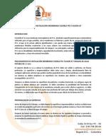 Manual de Instalación Membrana Flexible Pvc Flagon At