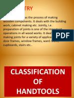 Classification of Handtools