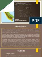 Faja Andina, Subandina e Importancia Geológica