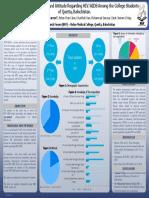 HIV & AIDS Research Poster (PSG Quetta, 2019)