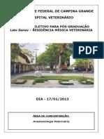 Anestesiologia_veterinaria Exercicio 3