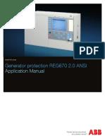ABB REG 650 Manual