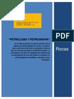 Informe de Los Tipos de Rocas.