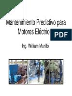 Mantenimiento Predictivo Para Motores Electricos