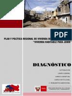 Plan Regional de Vivienda Diagnóstico