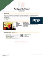 Berthoud, Monique - Couleurs Autoñales DUO