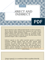 Direct and Indirect