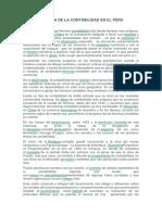 Historia de La Contabilidad en El Peru