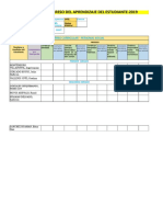 Registro de Evaluación 2019