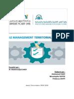 Le Management Territorial Durable (1)