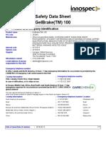 GelBrake 100 SDS