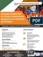 Poster Visitas Industriales