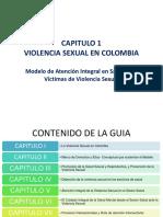 MODULO N° 2 -CAPITULO 1 VIOLENCIA SEXUAL EN COLOMBIA