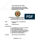 Monografia La Ley de La Pnp y Los Derechos Humanos - A1 Pnp Mamani Alave Carlos