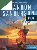 El camino de los reyes - Brandon Sanderson.epub