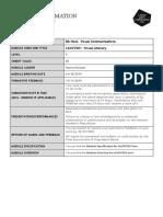lauvc501 module information 19-20
