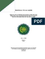 contoh  proposal teknik elektro