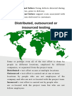 A test manager guide to distributed, outsourced or insourced testing