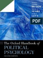 The oxford handbook of politican psychology