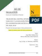 2019 Producto SGI_PROTES Proyecto de Tesis