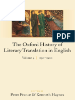 The Oxford History of Literary Translation in English Vol 4 1790 to 1900 Peter France & Kenneth Haynes.pdf