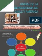 Ppt Independencia de Chile y America
