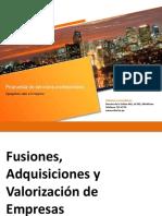 M&a y Valorización - 20092019