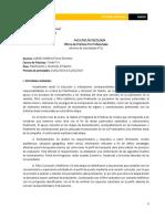 Informe de Internado- Psicología Organizacional
